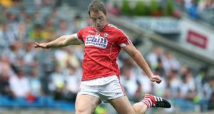 Cork forward Colm O'Neill scored 11 points in the win over Derry. Photograph: Lorraine O'Sullivan/Inpho