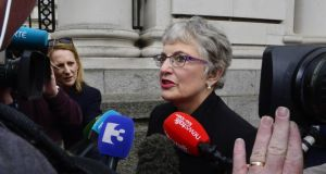 Minister for Children Katherine Zappone said the purpose of Tusla's meeting with the school would be to explore the use of the suspension process and offer guidance on alternative strategies. Photograph: Cyril Byrne