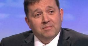 Robin Swann: he will be formally ratified as Mr Nesbitt's successor by the UUP ruling council  on April 8th