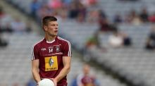 John Heslin scored 1-10 as Westmeath thrashed Wexford by 24 points. Photograph: Ryan Byrne/Inpho
