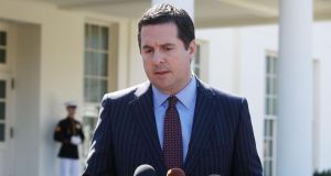 House intelligence committee chairman Devin Nunes: called off a critical hearing scheduled for Tuesday. Photograph: Mark Wilson/Getty Images