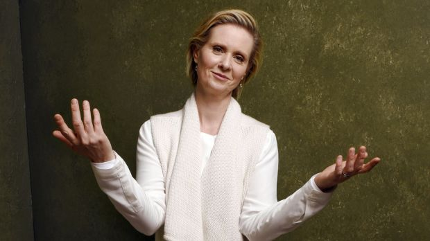 "Cynthia Nixon: Sex and the City ""was this idea that women are going about their lives and careers, having a great time of it and not sitting at home waiting for the phone to ring"". Photograph: Larry Busacca/Getty Images"