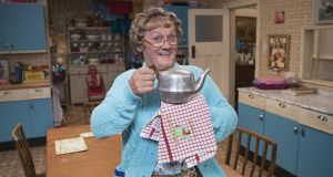 Brendan O'Carroll in All Round to Mrs Brown's. Photograph: Graeme Hunter