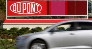 In return for the EU green light, DuPont will divest large parts of its global pesticides business. Photograph: Tim Shaffer/Reuters