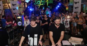 DJs Mano Le Tough and Solomun perform during the BPM 2016 at Martina Beach Club in January 2016 in Playa del Carmen, Mexico. Photograph: Victor Chavez/WireImage