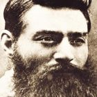 Ned Kelly: his reputation has long been a source of dispute in Australia. Photograph: Courtesy of State Library of Victoria