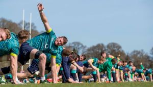 Donnacha Ryan has now almost certainly played his 47th and last match for Ireland, barring an extreme injury crisis in secondrow. Photograph: Morgan Treacy