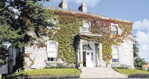 Thornhill House: elegant property off the Cherrygarth estate was previously advertised for rent at €7,000 a month