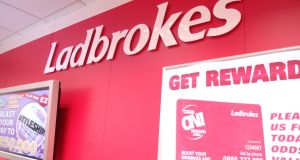 Operating profit jumped sharply at merged Ladbrokes Coral despite  despite group paying out heavily on a number of gambler-friendly sports results towards the end of 2016. Photograph:  Ladbrokes/PA Wire