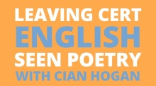Leaving Cert English: marking scheme for seen poetry