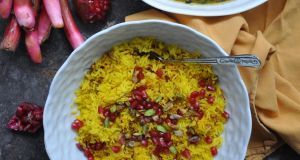 Persian Lamb and Rhubarb Khoresh