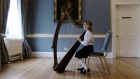 Junior harpist wins Feis Ceoil competition with stunning routine