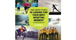 Win a Canon EOS 750D camera with The Irish Times Sport