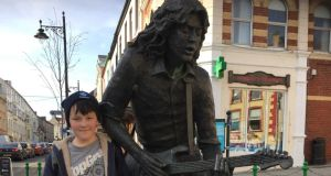 Daniel McNally and Rory Gallagher in Ballyshannon