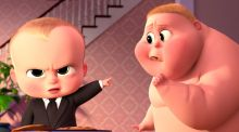 The Boss Baby may remind you of Donald Trump. But that's just a coincidence