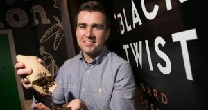 "Black Twist creator Conor Coughlan describes his innovation as ""hard coffee"" as in coffee brewed in hard liquor to produce a less sweet and more authentic taste. Photograph: Shane O'Neill Photography"