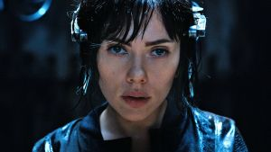 Scarlett Johansson as The Major in Ghost in the Shell. Photograph: Paramount Pictures