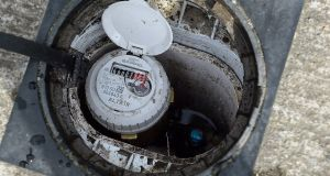 Monitoring  excessive usage? A water meter in Dublin. Photograph: Cyril Byrne