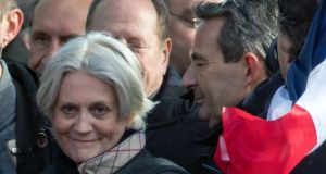 Penelope Fillon: She will be investigated on suspicion of complicity in misappropriating public funds and several related offences, a judicial source said. Photograph:    Ian Langsdon/EPA