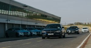 The BMW 5 Series event at Mondello showcased the best of the new car's attributes