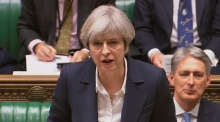 'No turning back': Brexit begins as Theresa May triggers Article 50