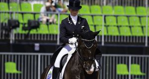 "Judy Reynolds & Vancouver K: won an historic five-star Grand Prix dressage event in Dortmund, Germany ""It's great to get a win like that especially in Germany where dressage is so very strong."" Photograph: Libby Law/Inpho"