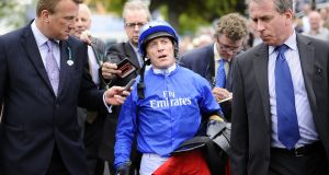 "Kieren Fallon: ""It was a great weekend, the Arc. A great Sunday, and on Monday morning we're walking into the Old Bailey looking at six to 10 years."" Photograph:  Alan Crowhurst/Getty Images"