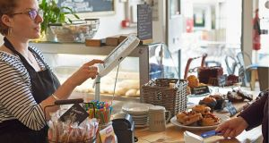 Square's payment service enables small businesses to accept card and contactless payments. Photograph: Square UK/PA
