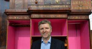 Simon Pratt, MD of Avoca at the new store under construction at Dunboyne, Co. Meath. Photograph: Alan Betson