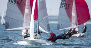 Dinghy classes already combine resources for good effect at events such as the Volvo Dun Laoghaire Regatta that takes place in July this year. Photograph: David Branigan/Oceansport