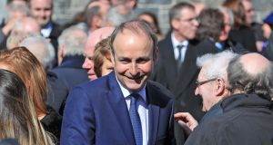 Fianna Fáil leader Micheál Martin: Investec noted Ireland was the fastest-growing economy in the European Union for the third successive year. Photograph: Colin Keegan, Collins