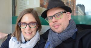 Artists Declan Kelly of Drogheda and Els Borghart, of Ghent, who have just set up EDDE, a studio and online art store
