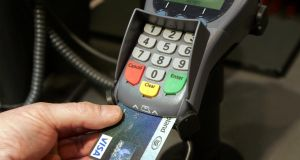 There could be Visa card problems early next week, depending on the arrangement with individual banks, if the entire backlog of transactions stalled by the three-day suspension is not processed. Photograph : Matt Kavanagh