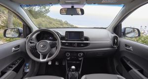 The Kia Picanto: interior has been radically improved