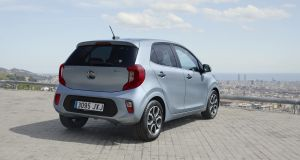 The Kia Picanto: Styling is nice, within reason. Nothing too radically impressive about it