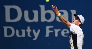 James McGee of Ireland recently made the quarter-finals of the French Challenger. Photograph: Tom Dulat/Getty Images.