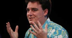 Oculus VR founder Palmer Luckey: an increasingly rare figure at Facebook events after claims that he had donated $10,000 to a pro-Trump group. Photograph: Niall Carson/PA Wire
