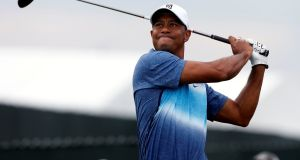 Tiger Woods will not feature at the 2017 US Masters. Photograph: Getty Images