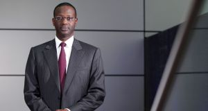 The tax evasion inquiries come as chief executive Tidjane Thiam is trying to focus Credit Suisse on wealth management and boosting capital depleted by fines for past misbehaviour. Photograph: Chris Ratcliffe/Bloomberg
