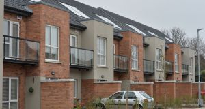 New social housing in Beaumont, Dublin:   regulations were overhauled in 2015. Photograph: Alan Betson