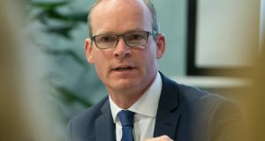 Minister for Housing Simon Coveney said the core issue in the housing market was a dramatic supply shortage in parts of the country. Photograph: Fennells