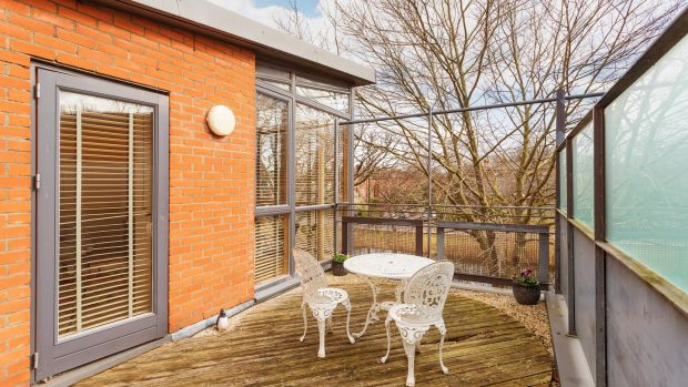 Off the lounge is a decked roof terrace that is south-facing and a real bonus space