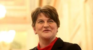 "The DUP leader Arlene Foster said the talks aimed at restoring the Northern Executive and Assembly were ""more structured"". Photograph: Niall Carson/PA Wire"