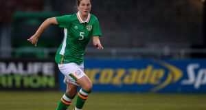 Republic of Ireland's Niamh Fahey: previously criticised lack of support for international players who represent Ireland. Photograph: Tommy Dickson/Inpho