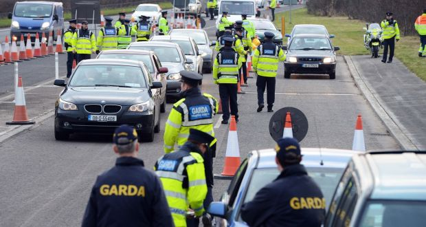 dd4cc80ded Gardaí inspect vehicles at a checkpoint in Co Dublin. Under new proposals  it appears the