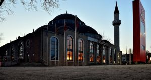 The DITIB Merkez mosque in Duisburg, Germany, one of the largest in the country. A German author has claimed the authorities know little about the country's Muslim community. Photograph: Sascha Steinbach/EPA
