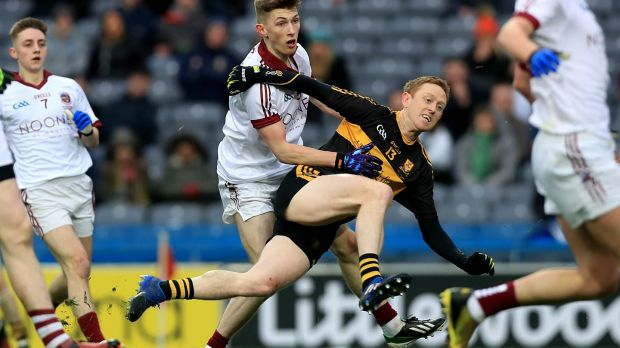 Colm Cooper scores a goal for Dr Crokes against Slaughtneil in this year's All-Ireland senior club final at Croke Park. Photograph: Donall Farmer/Inpho