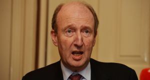 Minister for Transport Shane Ross: 'If we could prevent 35 deaths over the next five years, wouldn't it be worth it?'. Photograph: Alan Betson