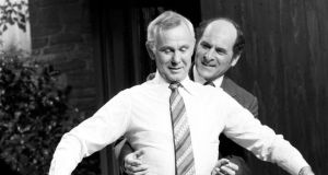 Heimlich manoeuvre: Dr Henry Heimlich demonstrates his technique on the chatshow host Johnny Carson in 1979. Photograph: ABC