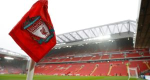 Liverpool have been handed an academy transfer ban after admitting their part in the 'tapping up' of a Stoke youngster. Photograph: Reuters/Carl Recine